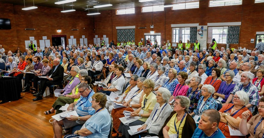 An overview of the Diocesan Synod IMAGE
