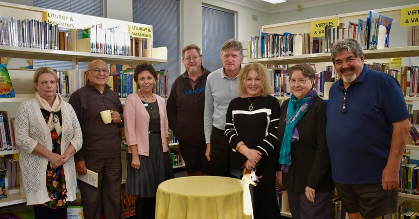 Interfaith Talk at the St Laurence Centre Library IMAGE