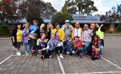 Image:A week of wellbeing at St James' Muswellbrook