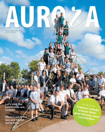Aurora Magazine March 2017 Cover