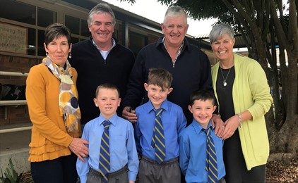 Image:St Mary's Scone celebrate Grandparent's Day