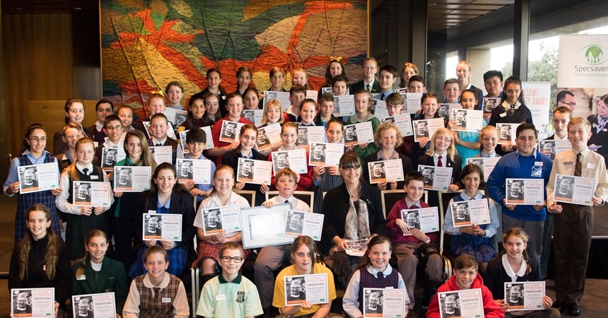 Diocesan students nominated for Fred Hollows Humanity Award IMAGE