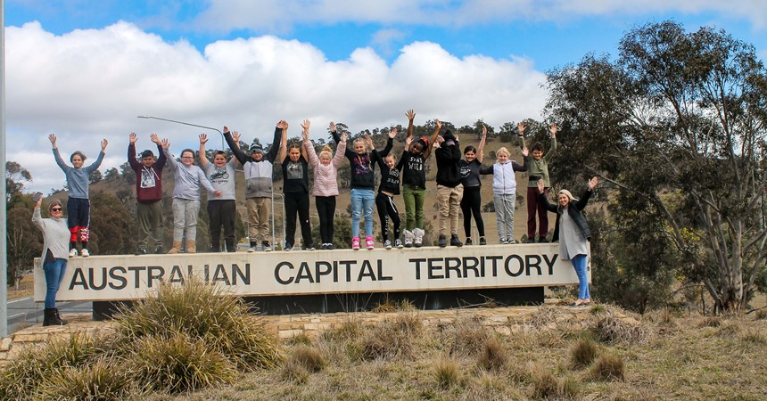 St Pius X Windale take over Canberra IMAGE