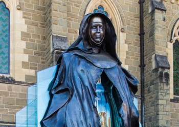 Mary MacKillop Chapel grounds buckling under the strain of popularity IMAGE