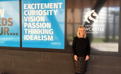 Image:Kim Moroney appointed Conjoint Fellow at the University of Newcastle