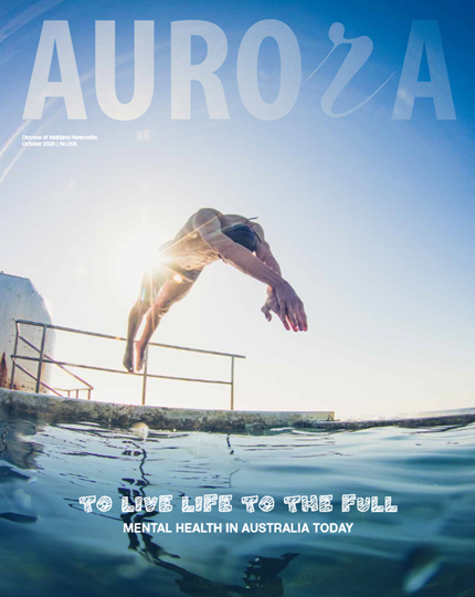 Aurora Magazine October 2020 Cover