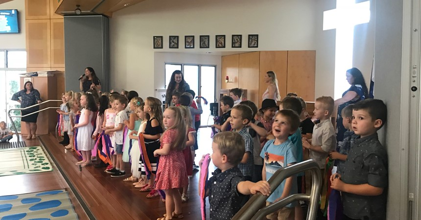 St Nicholas Early Education celebrates graduation day 2018 IMAGE