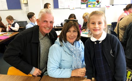 Image:Grandparent's Day at St Francis Xavier's
