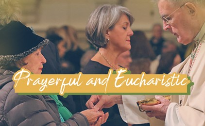 A snapshot of a prayerful and Eucharistic church IMAGE