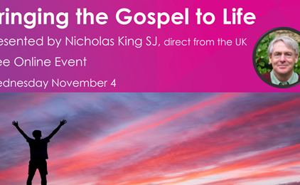 ONLINE EVENT: Bringing the Gospel to Life IMAGE