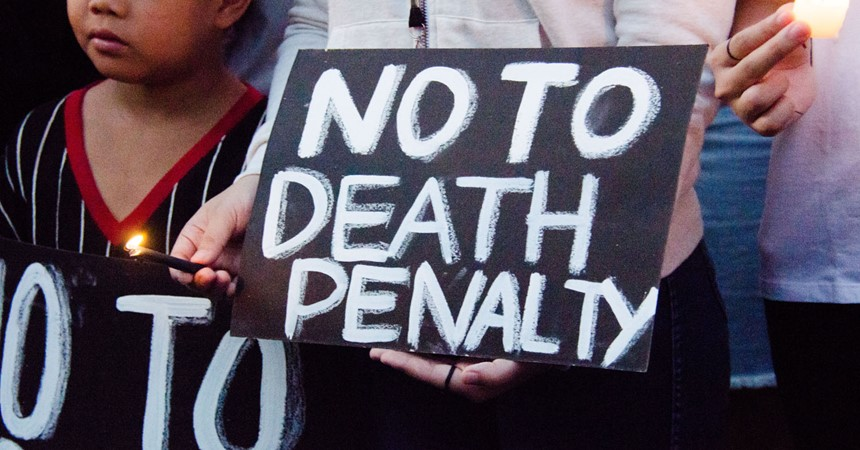 The death penalty in the USA IMAGE