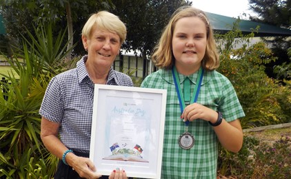 St Michael's student named Young Citizen of the Year in Port Stephens IMAGE