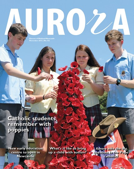 Aurora Magazine November 2015 Cover