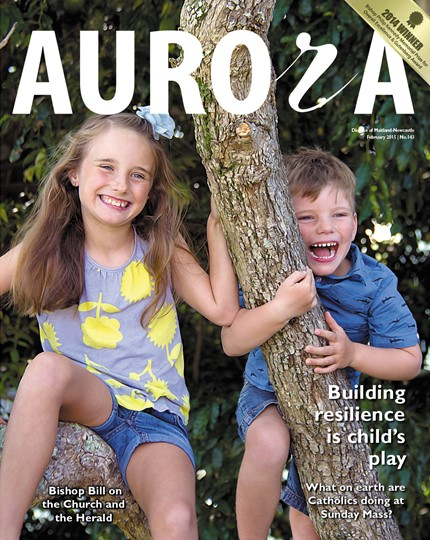 Aurora Magazine February 2015 Cover